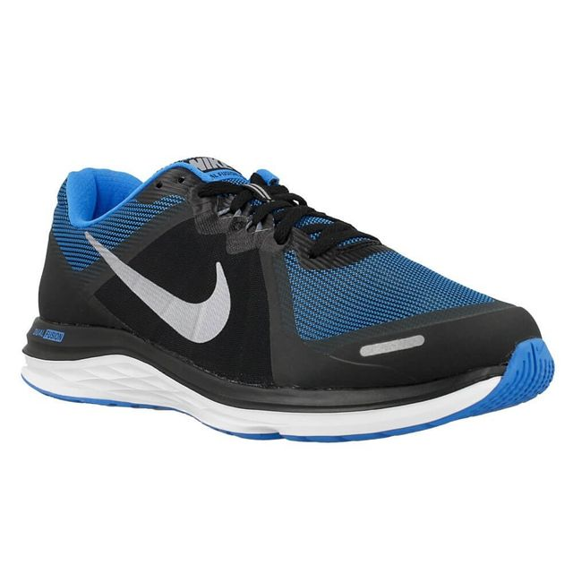 finest selection a0eda df91c Nike - Dual Fusion X 2 Bleu - pas cher Achat   Vente Chaussures running -  RueDuCommerce