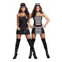 Festiveo - Déguisement Sexy Policière/Bandit