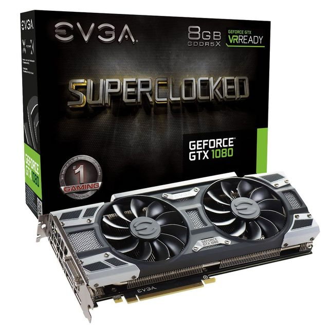 EVGA GeForce GTX1080 Super Clock Gaming ACX3.0 Cooling