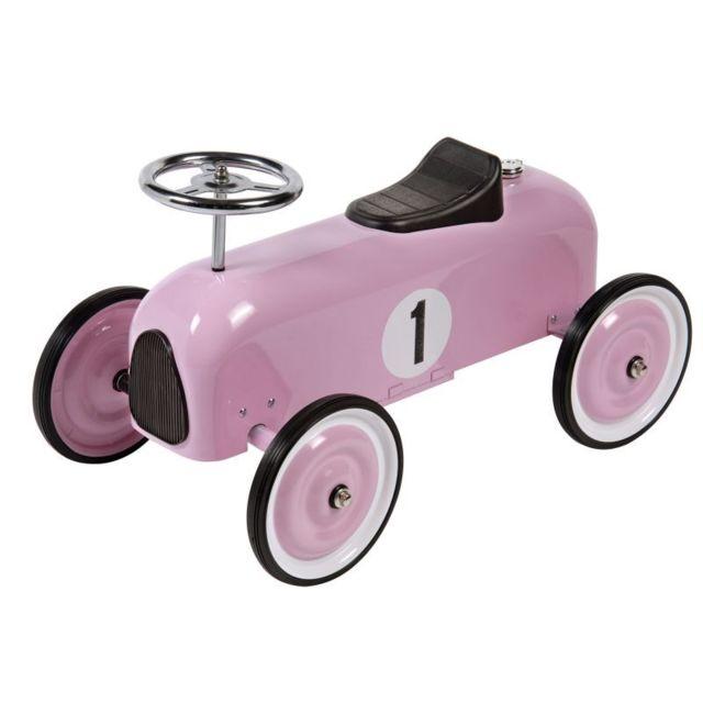 House Of Toys Petit bolide Voiture de course - Couleur - Rose