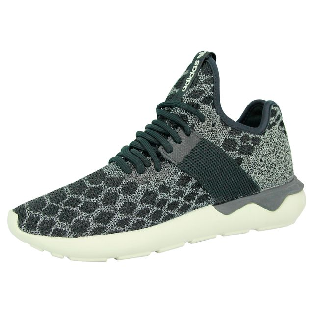 differently 4d25a 2fe0a Adidas originals - Tubular Runner Primeknit Chaussures Mode Sneakers Unisex  Gris Noir - pas cher Achat   Vente Baskets homme - RueDuCommerce