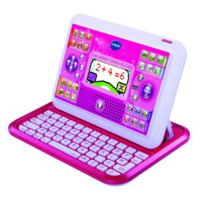 vtech ordi tablette genius xl color rose pas cher. Black Bedroom Furniture Sets. Home Design Ideas