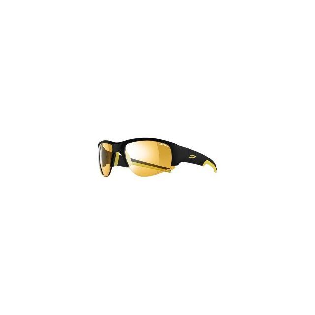Julbo - Lunettes Dust noir jaune verres Zebra photochromiques - pas cher  Achat   Vente Lunettes - RueDuCommerce d910d4dbb843