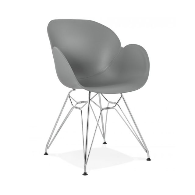 Kokoon Design Fauteuil design Chipie Grey 59x57,5x85 cm