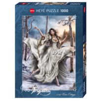 Heye - Puzzle 1000 pièces : White Dream