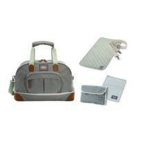 "BEABA - Sac voyage Amsterdam extensible, II ""SMART COLORS"" taupe"