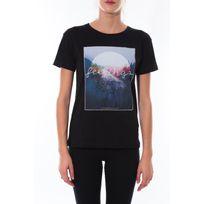Coquelicot - T-shirt Noir 16423