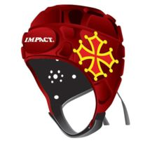 Impact France - Casque Rugby Impact Occitane 34 - taille : S