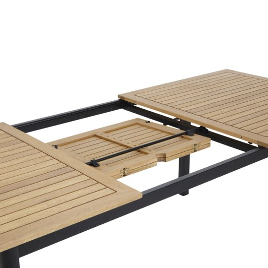 Table de jardin extensible Louga à Prix Carrefour