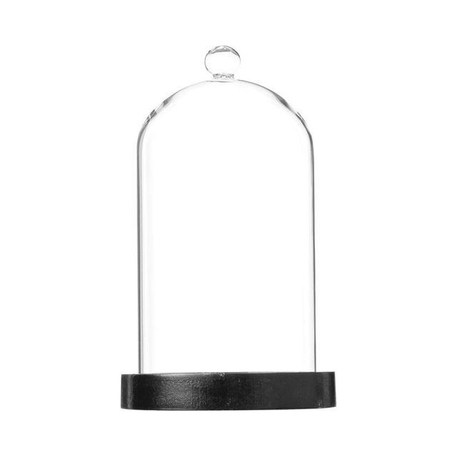 Paris Prix - Cloche Décorative 20cm en Verre Transparent