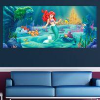 Bebe Gavroche - Poster géant Ariel La Petite Sirene Princesse Disney 202X90 Cm