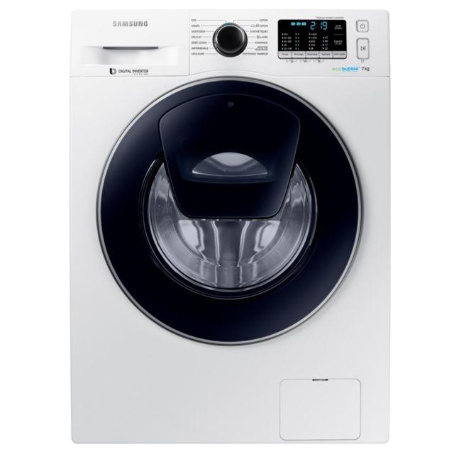 Samsung Lave-linge frontal - WW70K5410UW - Blanc