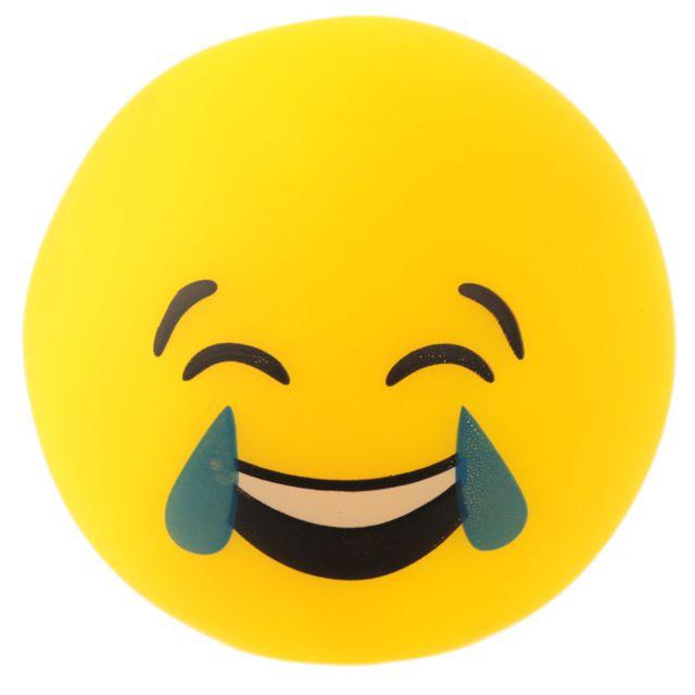 Lampe ou Veilleuse Emoji Pleur de rire Led