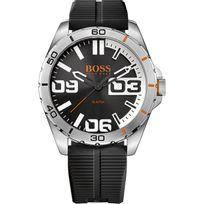 Hugo Boss Orange - Montre Boss Orange 1513285 - Montre Silicone Ronde Homme
