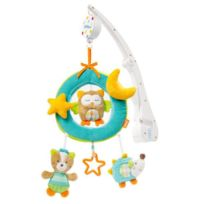 Babysun Nursery - Babysun Sleeping Forest Mobile musical de voyage
