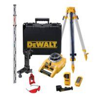 Dewalt - Kit laser rotatif à niveau automatique Portée 100M - DW075PK