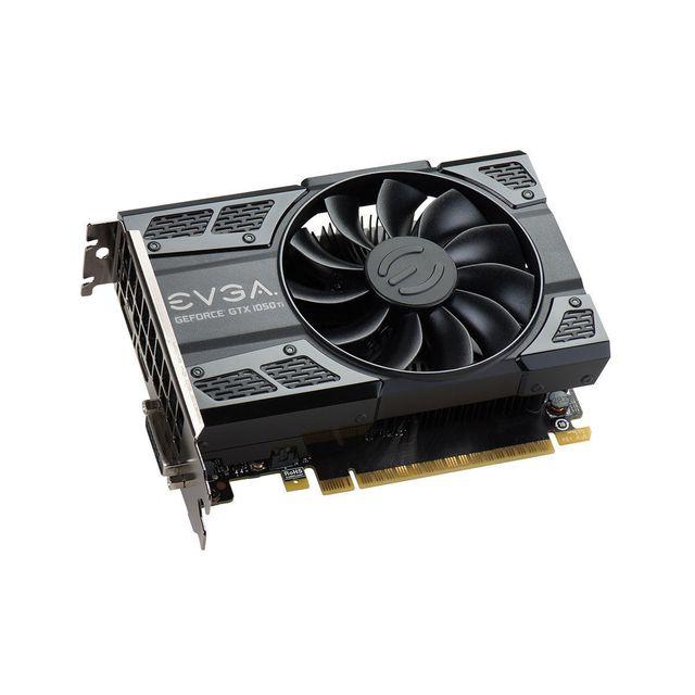 EVGA GeForce GTX 1050 Ti Gaming 4 Go Chaque joueur mérite la meilleure expérience de jeu, c'est pourquoi nous avons créé la carte graphique GeForce® GTX 1050, aussi puissante que rapide. Transformez votre PC en v&eacu