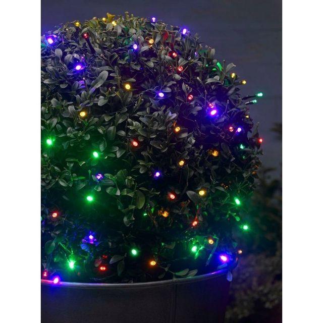 d621f59728cfb6 Smart Garden - Guirlande à piles 100 led multicolores - pas cher Achat    Vente Guirlandes lumineuses - RueDuCommerce