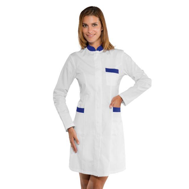 isacco blouse blanche de travail pour femme pas cher achat vente v tements m dicaux. Black Bedroom Furniture Sets. Home Design Ideas