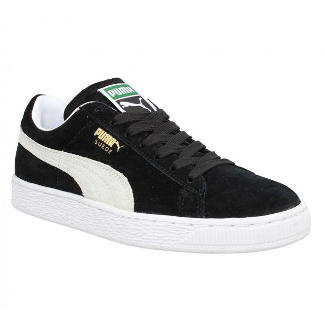 puma chaussure noir femme