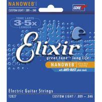 Elixir - Nanoweb 12027 - Jeu de cordes guitare électrique 09-46
