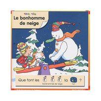 Calligrammes - Tom et Tim : Le bonhomme de neige