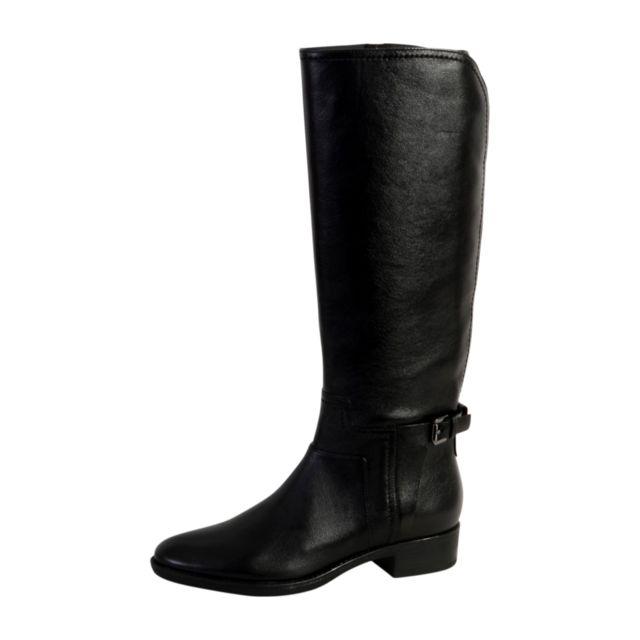 Pas Noir D Boots Geox Bottes Femme Achat Cher Felicity Vente B qg44nx