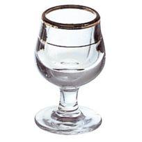 La Rochère - Shot - verre à liqueur filet or 3cl - Lot de 12 - Déguster