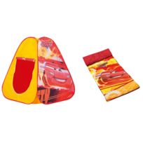 John - Cars Pop Up Combo Tente+sac De Couchage