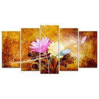 Declina - Tableau Xxl bouquet de fleurs pas cher - Tableau toile design