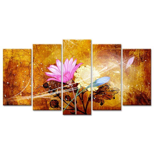 Tableau Xxl Bouquet De Fleurs Pas Cher Tableau Toile Design