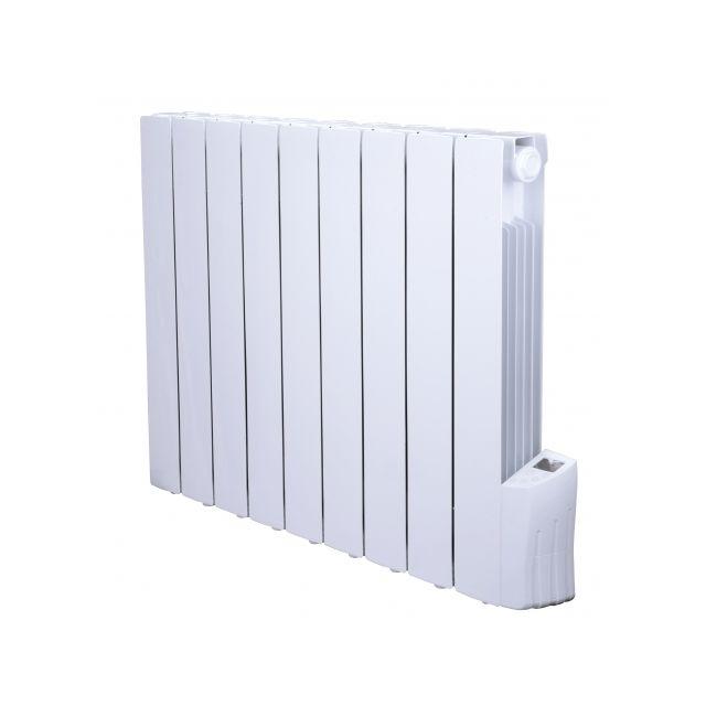 warm tech radiateur inertie fluide 1500w 9 elements pas cher achat vente radiateur. Black Bedroom Furniture Sets. Home Design Ideas