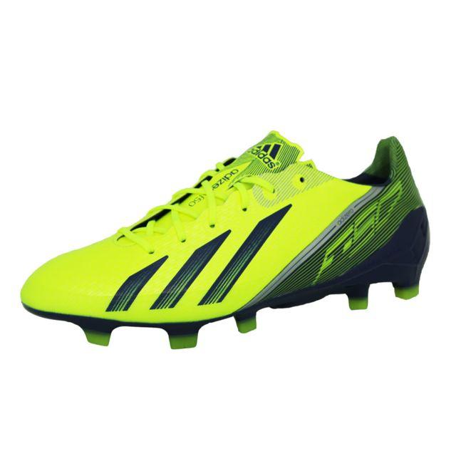 buy online 113be 01b39 Adidas performance - Adidas adizero f50 trx fg chaussures de football homme  jaune bleu nuit