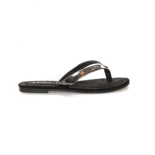 076367518a44d Lpb Shoes-les Petites Bombes - Tong Tango Plomb - pas cher Achat   Vente  Sandales et tongs femme - RueDuCommerce