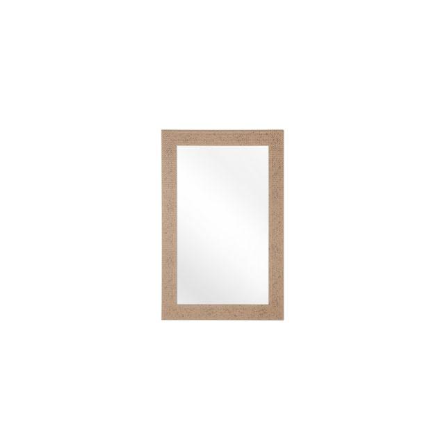 BELIANI Miroir doré 60 x 90 cm LELAVANDOU - or