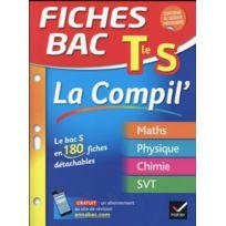 Hatier - Fiches Bac tome 30 ; Terminale S ; La Compil