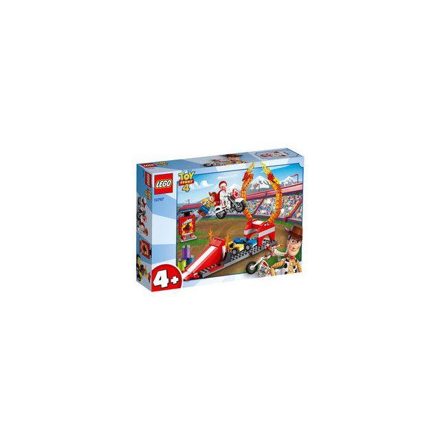 Lego 10767-® Toy Story 4 Disney Pixar le spectacle de cascades de Duke Caboom