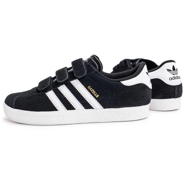 Adidas originals Gazelle 2 Cf Enfant Noire pas cher