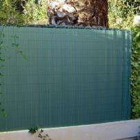 Jet7GARDEN - Canisse brise vue couleur vert - Dimensions : 1,80 m x 3 m