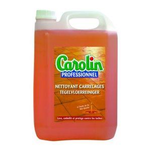 Carolin nettoyant carrelage huile de lin bidon de 5 litres pas cher achat vente - Huile de lin carrelage ...