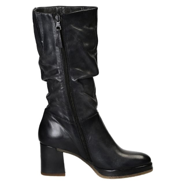 Leonardo Shoes Femme 253310PEPE Gris Cuir Bottes