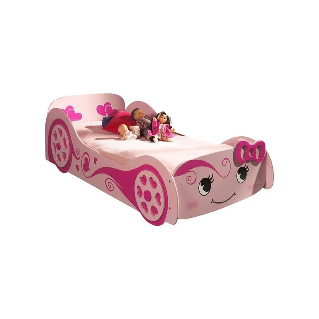 Vipack Funbeds Lit voiture Hello Pretty
