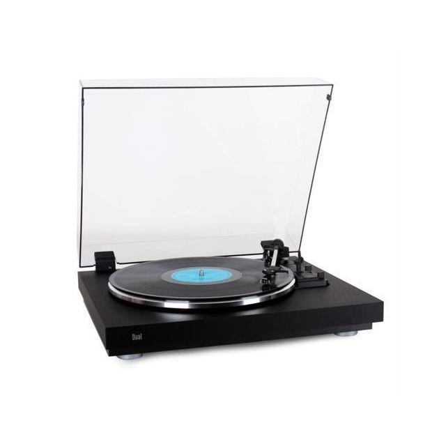 DUAL - Platine vinyle automatique CS440 - Noir