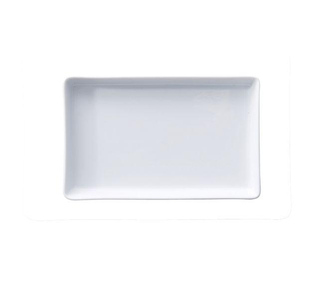 Lebrun Assiette plate 18X12.5CM Bonna