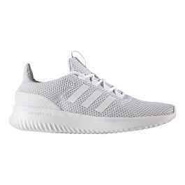 Adidas Chaussures neo Cloudfoam Ultimate gris blanc pas