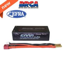 Gens Ace - Accu 5000mAh 50C 7.4V 2S2P HardCase Lipo 29A EFRA & BRC approval