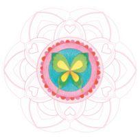 Avenue Mandarine - Carner Graffy Pop Mandala : Fille