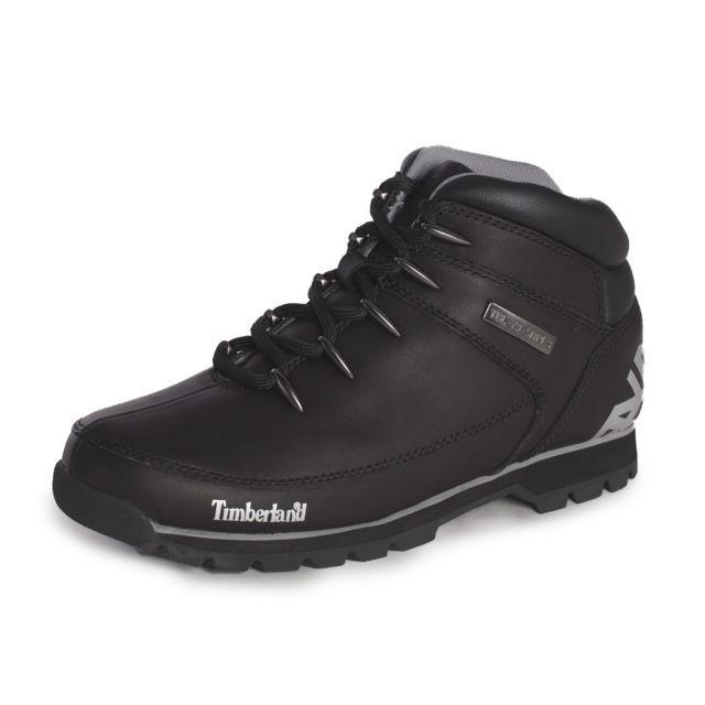 Timberland - Boot Euro Sprint Hiker Black Reflective - Ca17JR