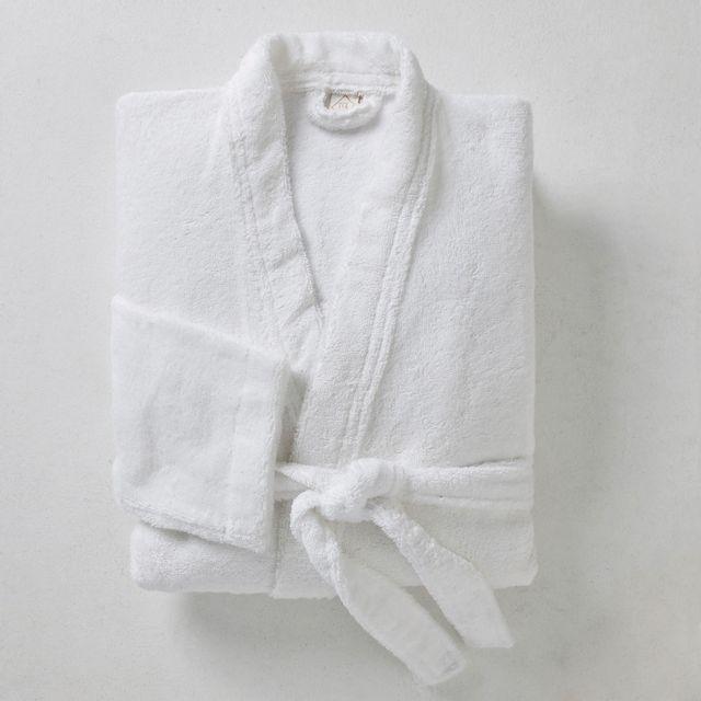 4eb6204cf4c TEX HOME - Peignoir BATH en coton - pas cher Achat   Vente Peignoirs ...