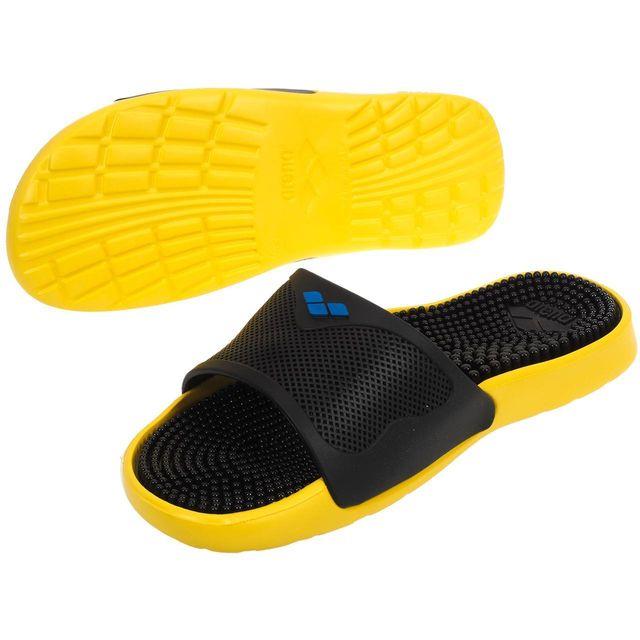 Arena - Claquettes mules Marco x grip black yello Noir 82910